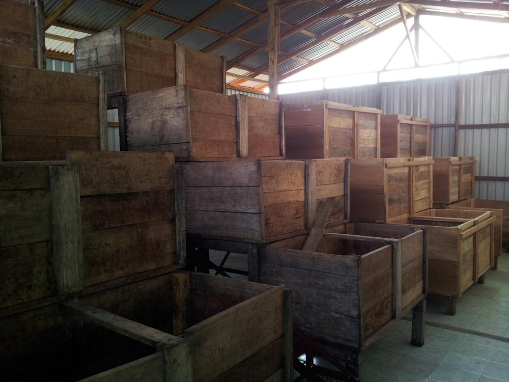 Cajones de fermentacion 12